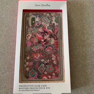 Vera Bradley iPhone XS or X phone case